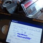 """Copia di proiezione di """"Cortomiraggi"""" su Betacam. PAL senza sottotitoli inglesi."""